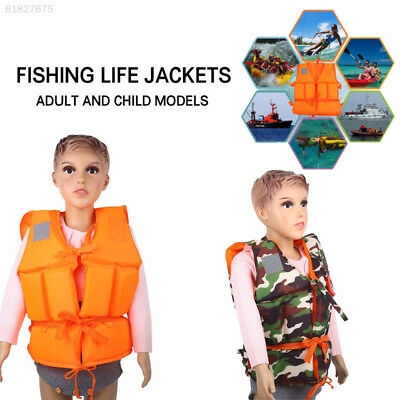 6A3E Clothing Accessories Life Vest Oxford Cloth Sport Fishing Hiking Durable