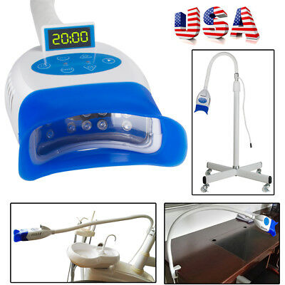 Dental LED Light Teeth Whitening Bleaching Accelerator W/ 10 LEDFor Chair /Desk