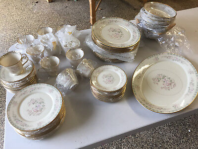 Lenox China Fair Isle Brand New 73 Pc Complete Service For 12 Diners New Perfect