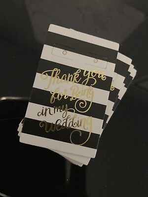Thank You For Being In My Wedding Bridesmaid Earrings Gift Holder