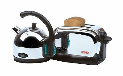 Casdon Breville Classique Realistic Toaster & Kettle Breakfast Toy Playset