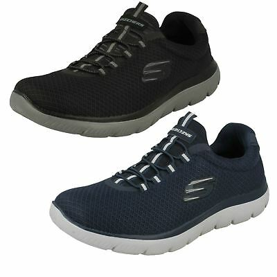 NEW SKECHERS MEN Sneakers Trainers Oxford Memory Foam ELMENT