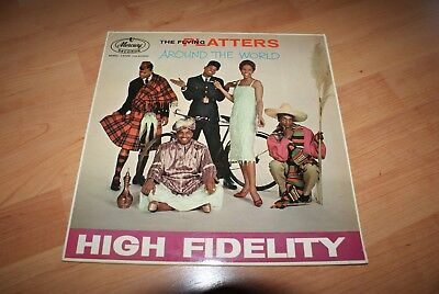 The flying Platters Around the world High Fidelity LP MMC 14009 Made in GB