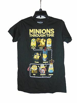 Minions Through Time T-shirt Size Small Nwot Cotton Despicable Me