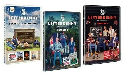 Letterkenny TV Series Complete Season 6 1-5 Collection Box DVD FREE SHIPPING