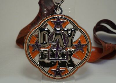2Day5K Limited Edition Race Medal