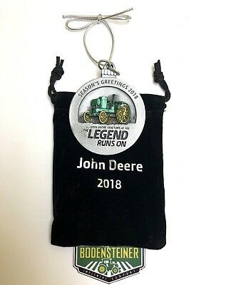 2018 John Deere Pewter Christmas Ornament #pmdco2018   Limited - Last 10!!!!