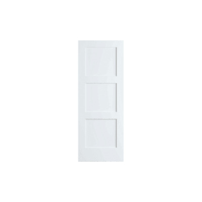 Frameport SHK-PD-F3P-6-2/3X2-1/2 Shaker 30 Inch by 80 Inch Flat 3 Panel Interior