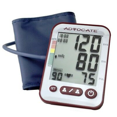 Advocate Arm Blood Pressure Monitor X-Large Cuff 26 Ounce