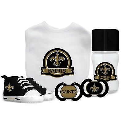 d83e639a REEBOK NEW ORLEANS Saints 2 Pc Baby / Kid Bib Set NFL Apparel ...