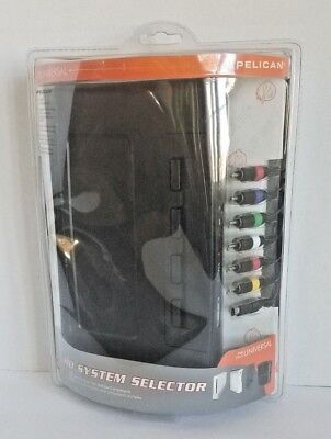 Pelican HD System Selector PL-970 Plug 4-Console XBOX 360 PS3 Wii & Other New