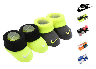 Nike New Born Infant 2 Pair Booties