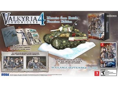 Valkyria Chronicles 4: Memoirs From Battle Premium Edition - Nintendo Switch