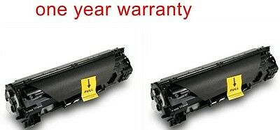 2 black fax ink toner cartridge for Canon 128 faxphone L100 cannon laser Printer