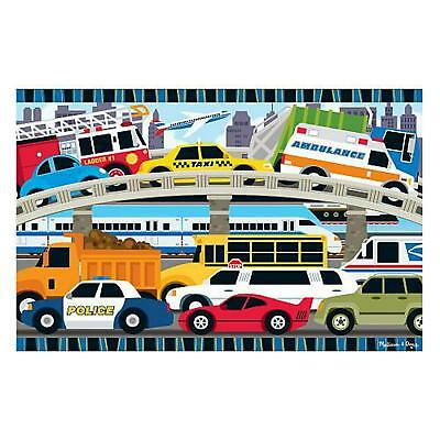 Traffic Jam Floor Puzzle 2'x3' - Melissa & Doug Free Shipping!