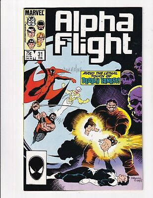 Alpha Flight #31 (Marvel 1985)