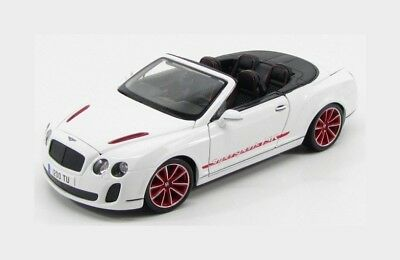 Bentley Continental Supersports Convertible Isr 2011 White Burago 1:18 BU11035WH