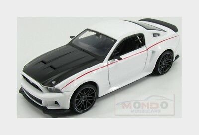 Ford Usa Mustang Coupe Street Racer 2014 White Black Maisto 1:24 MI31506WH Model