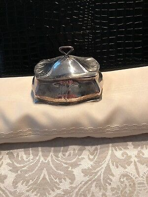 WMF Art Nouveau Silverplate Whiplash Soap Box