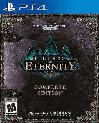 Playstation 4 Ps4 Video Game Pillars Of Eternity Complete Edition Brand New