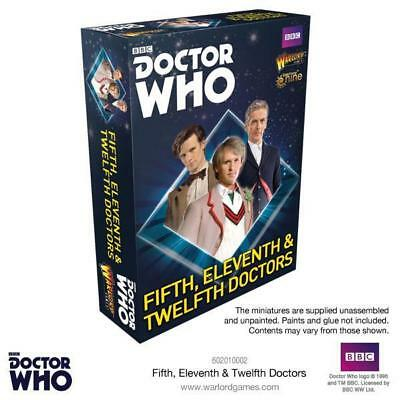 Doctor Who: Fifth, Eleventh & Twelfth Doctors