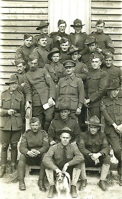 1917 Photo-Training with the Royal Flying Corps-Halton Camp-England