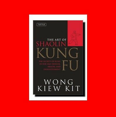 Martial Arts Book:the Secret Art Of Shaolin Kung Fu:self-Defense%health+Enlighte