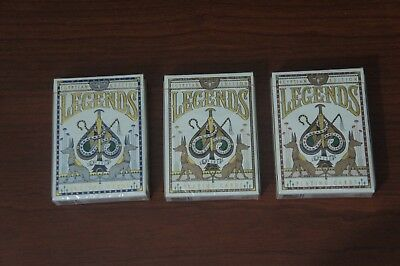 Legends # 202 Egyptian Edition playing cards (3 Decks)