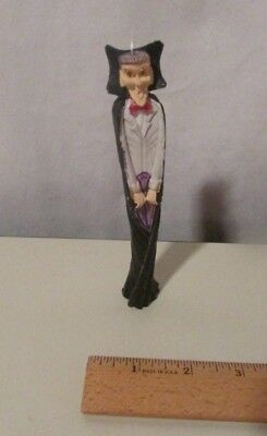 "Count Dracula Vampire Ornament 6"" Tall Skinny Figurine"