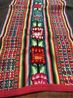 Antique Hand Woven Peruvian Manta Fabric Cloth