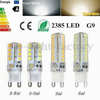 3.5W 5W G9 32/64 LED 2835 SMD Bulb Ampoule Lampe Silicone Capsule Voiture 220V