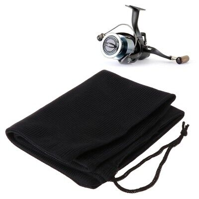 Fishing Reel Bag Spinning Storage Portable Fabric Strapped Carrier Tools Tackle