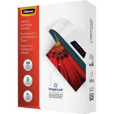 Fellowes Glossy Pouches - Letter, 5 mil, 100 pack