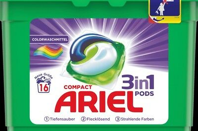 Ariel Colorwaschmittel Compact 3in1pods