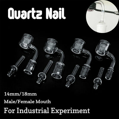 Quartz Thermal Banger Nail Rotational Cap Female & Male Joint Clear 14MM/18MM