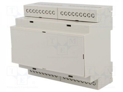 D6MG - 1pcs Enclosure: for DIN rail mounting; Y:90.2mm; X:106.25mm; Z:57.5mm
