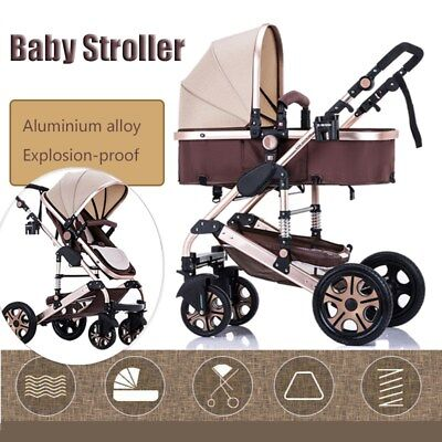 Pushchair Baby Stroller Kids Pram Car Carrycot Buggy Infant Travel Carriage