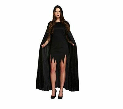 Halloween Party Accessory Adult Outfit Fancy Dress Long Cape Vampire Costume