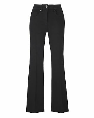 New Simply Be Womens Kim High Waisted Super Soft Bootcut Jeans