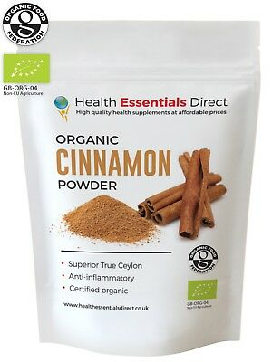 Organic Cinnamon Powder (Superior Sri-Lankan True Ceylon) Choose Size