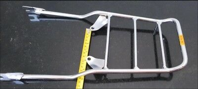 Stainless rear cargo carrier rack honda chaly CF50 CF70 1978 1979 1980