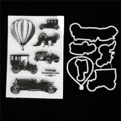 Classic Cars Metal Stamp Cutting Dies For DIY Scrapbooking Photo Album CardsMC