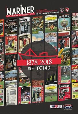 Grimsby Town Football Club - 18/19 Programme - Morecambe - 28/09/18