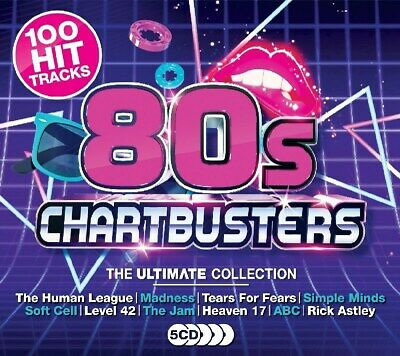 80's Chartbusters: The Ultimate Collection - Various Artists (Box Set) [CD]