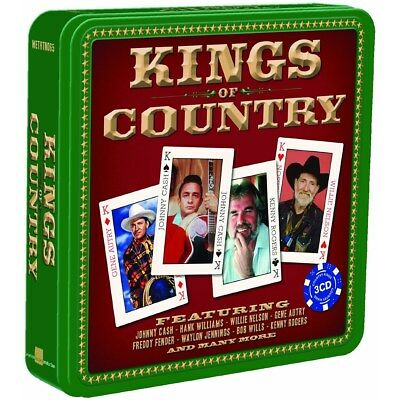 The Kings of Country - Various Artists (Box Set) [CD]