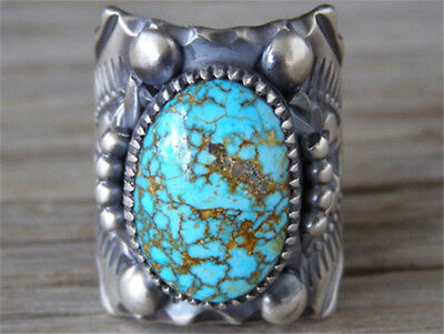 1 Heart Charm Antique Silver Tone With Faux Turquoise Stone SC4909