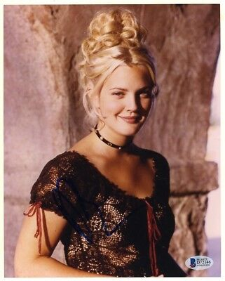 Drew Barrymore Bad Girls Autographed Signed 8x10 Photo Authentic BAS COA AFTAL