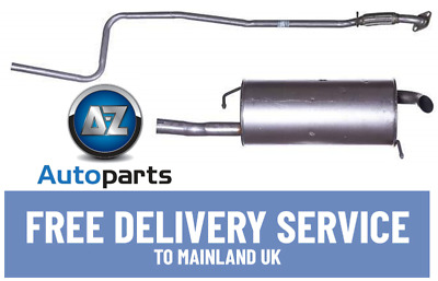 Ford Fiesta 1.25-1.4 Mk 6 (2002-2009) Hatchback Centre & Rear Exhaust 1141303