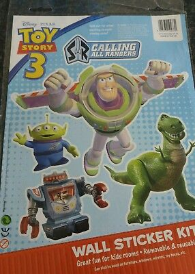 Disney wall stickers.  Toy story 3. Calling all rangers