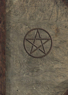 Hardcover Pentagram Book of Shadows, Journal!